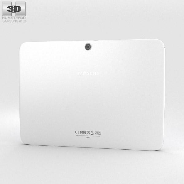 Samsung Galaxy Tab 3 10.1-inch White 3d model