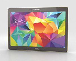 3D model of Samsung Galaxy Tab S 10.5-inch Titanium Bronze