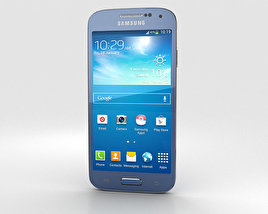 3D model of Samsung Galaxy S4 Mini Blue