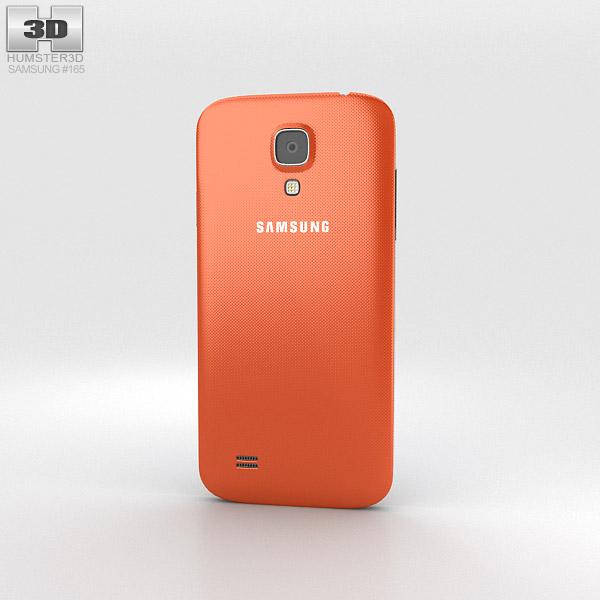 Samsung Galaxy S4 Mini Orange 3d model