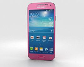 3D model of Samsung Galaxy S4 Mini Pink