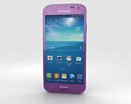 3D model of Samsung Galaxy S4 Mini Purple