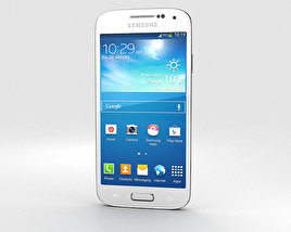 3D model of Samsung Galaxy S4 Mini White Frost