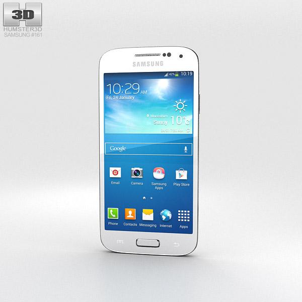 Samsung Galaxy S4 Mini White Frost 3d model