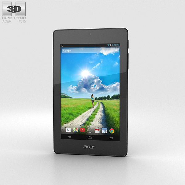Acer Iconia One 7 B1-730 Black 3D model
