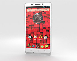 3D model of Motorola Droid Maxx White