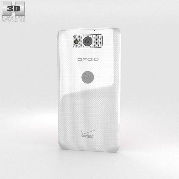 Motorola Droid Maxx White 3d model