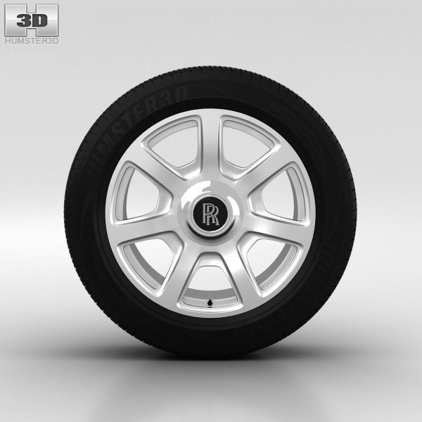 3D model of Rolls-Royce Phantom Wheel 21 inch 002