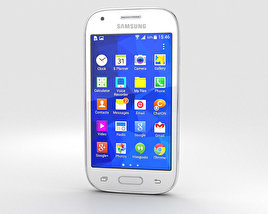 3D model of Samsung Galaxy Ace Style Cream White