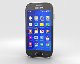 3D model of Samsung Galaxy Ace Style Dark Gray