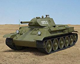 3D model of T-34