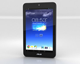 3D model of Asus MeMO Pad HD 7 Gray