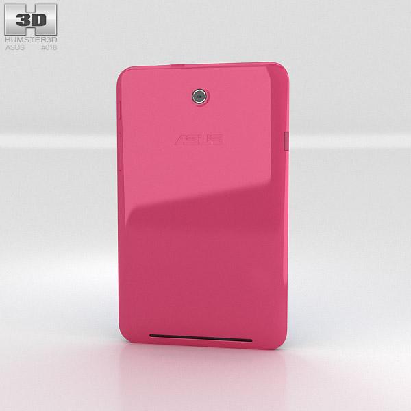 Asus MeMO Pad HD 7 Pink 3d model