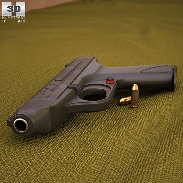Heckler & Koch VP70 3d model