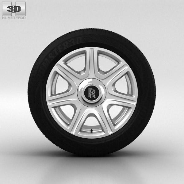 3D model of Rolls-Royce Phantom Wheel 21 inch 003