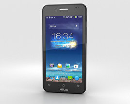 3D model of Asus PadFone Mini 4.3-inch Titanium Black
