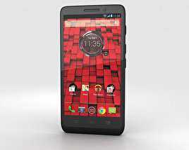 3D model of Motorola Droid Mini Black