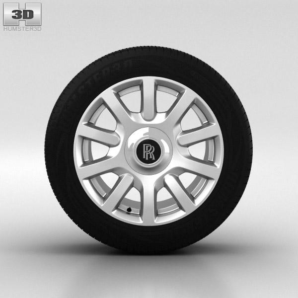 3D model of Rolls-Royce Phantom Wheel 21 inch 004