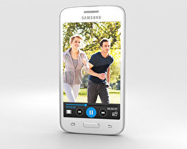 3D model of Samsung Galaxy Core Mini White