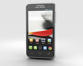 3D model of Alcatel One Touch Evolve Black