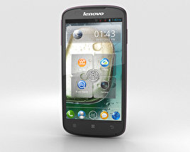 3D model of Lenovo A630 Black