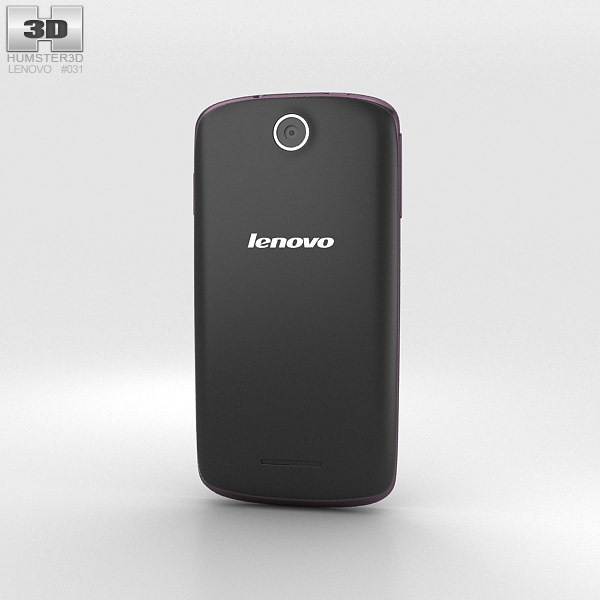 Lenovo A630 Black 3d model