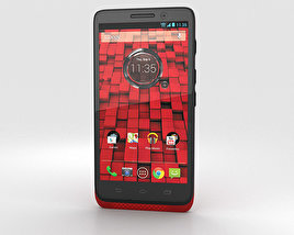 3D model of Motorola Droid Mini Red