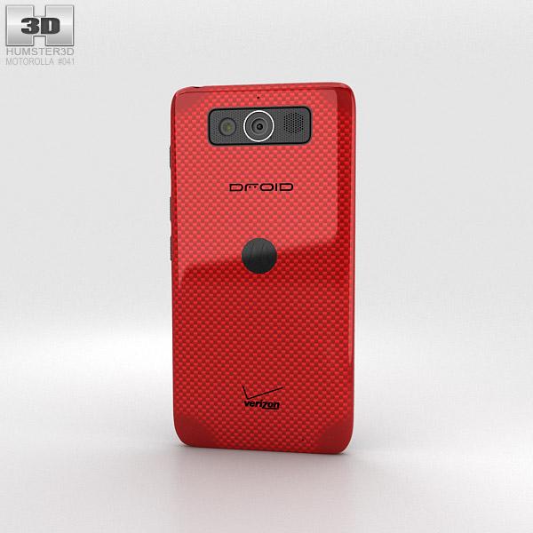 Motorola Droid Mini Red 3D模型