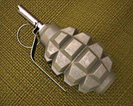 3D model of F1 Grenade