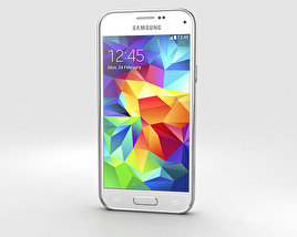 3D model of Samsung Galaxy S5 mini Shimmery White