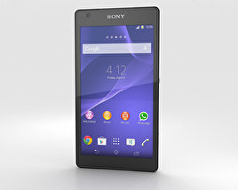 3D model of Sony Xperia Z2a White