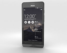 3D model of Asus Zenfone 5 Charcoal Black