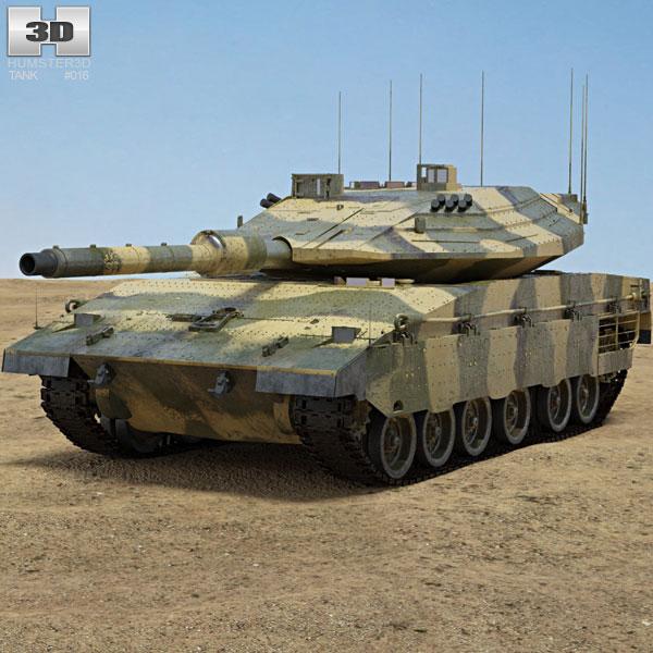 Merkava Mark IV 3D model