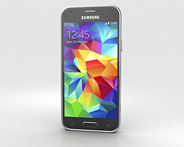 3D model of Samsung Galaxy S5 mini Charcoal Black