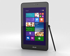 3D model of Asus VivoTab Note 8 Black