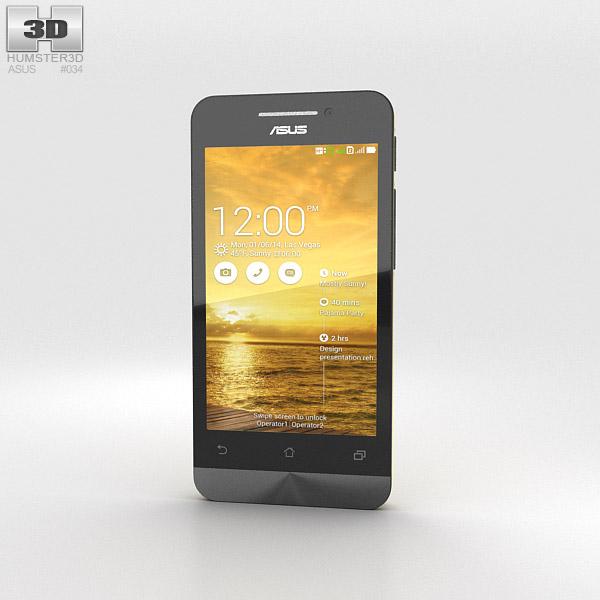 Asus Zenfone 4 Solar Yellow 3d model