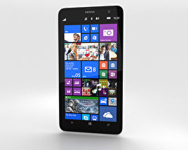 3D model of Nokia Lumia 1320 White