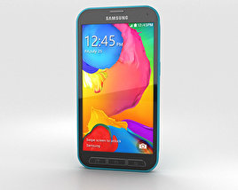 3D model of Samsung Galaxy S5 Sport Electric Blue