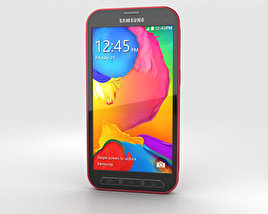 3D model of Samsung Galaxy S5 Sport Cherry Red