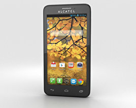 3D model of Alcatel One Touch Fierce Slate