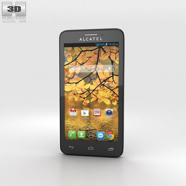 Alcatel One Touch Fierce Slate 3D model