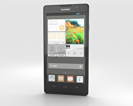 3D model of Huawei Ascend G700 White