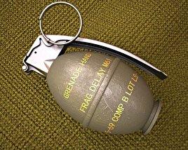 3D model of M26 Grenade