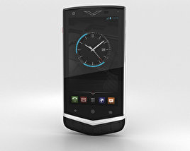 3D model of Vertu Constellation 2013 Black Alligator