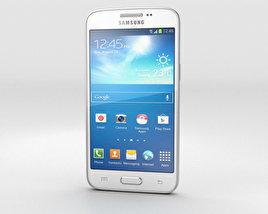 3D model of Samsung Galaxy Core Lite LTE White