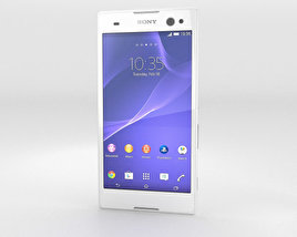 3D model of Sony Xperia C3 White