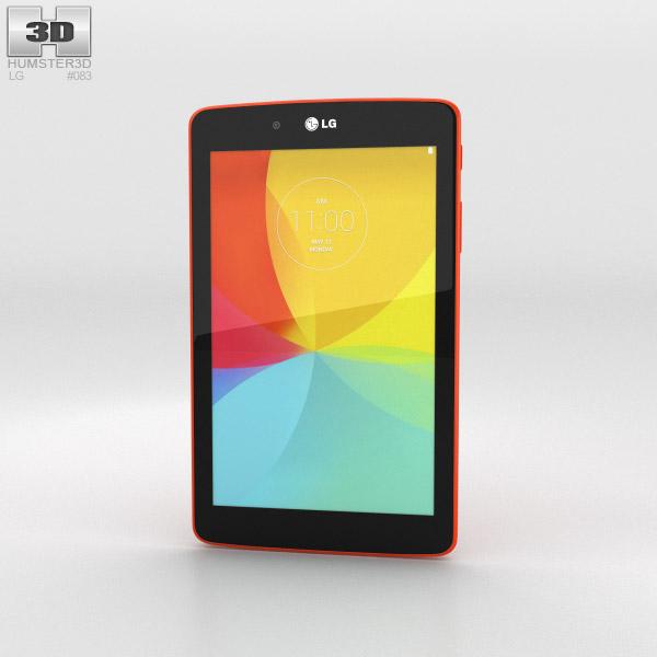 LG G Pad 7.0 Luminous Orange 3d model