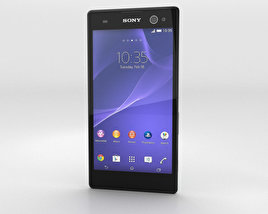3D model of Sony Xperia C3 Mint