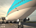 Boeing 747-8I Korean Air 3d model