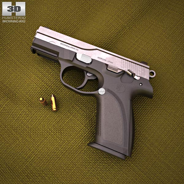 3D model of Browning PRO-9